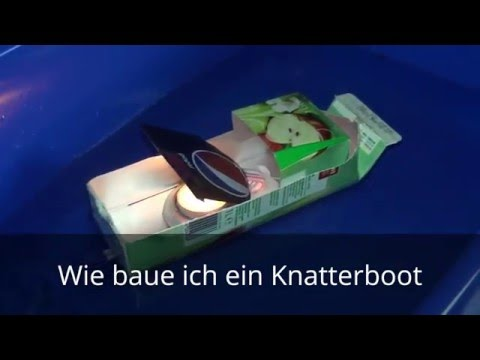 papierboot mit motor bauen tutorial doovi. Black Bedroom Furniture Sets. Home Design Ideas
