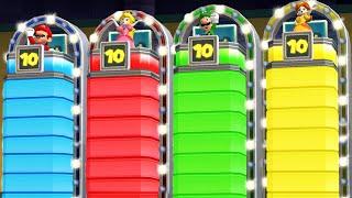 Mario Party 9 - Minigames - Mario vs Peach vs Luigi vs Daisy (Master Difficulty)