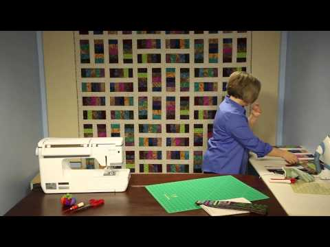 In The Stacks Quilt Kit - Keepsake Quilting - A Quilt That Showcases Big Prints