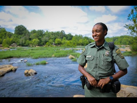 Virginia Conservation Police Officer Katiana Quarles: