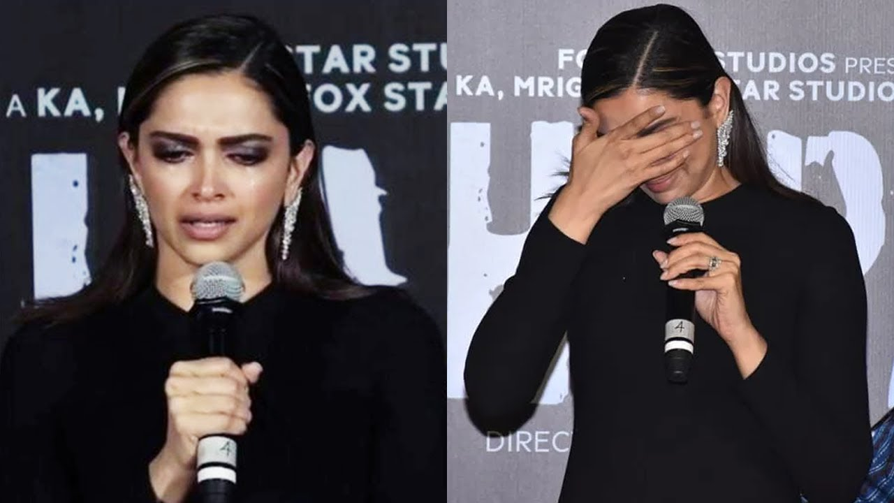 Deepika Padukone breaks down talking about Laxmi Agarwal at Chhapaak trailer
