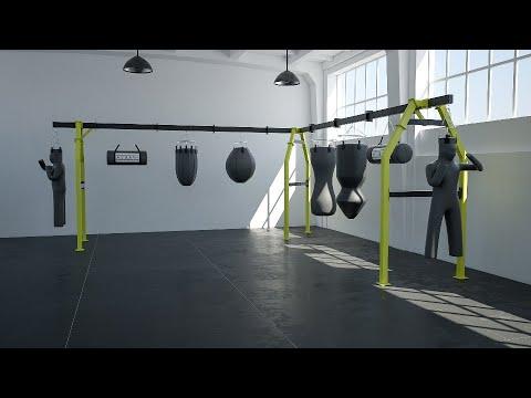 Все виды боксерских мешков в БК Ударник