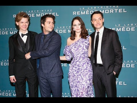 Maze Runner : Death Cure Cast talk about FRENCH FANS & PARIS PREMIERE - 2018 (VOSTFR)