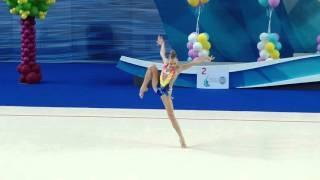 Полина Шматко БП Юные гимнастки 2015
