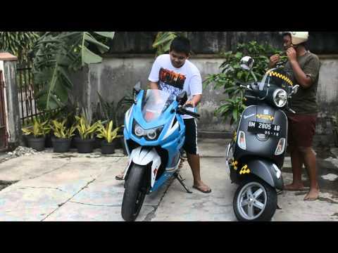 Kawasaki Ninja VS Vespa VIP TAX!