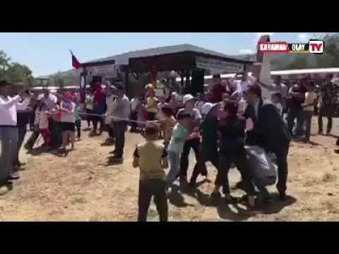 Selman oğuzhan eser çocuklar ile ip yarışı yaptı