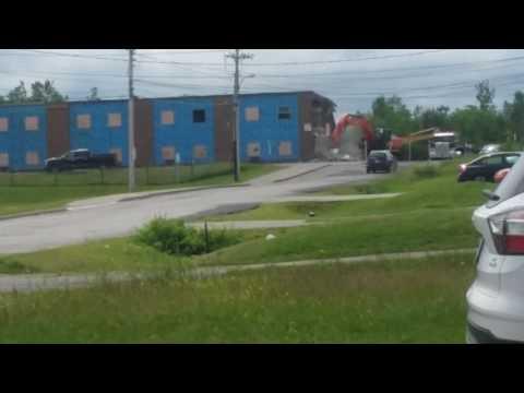 MACLENNAN JR. HIGH/ MIDDLE SCHOOL DESTRUCTION!!