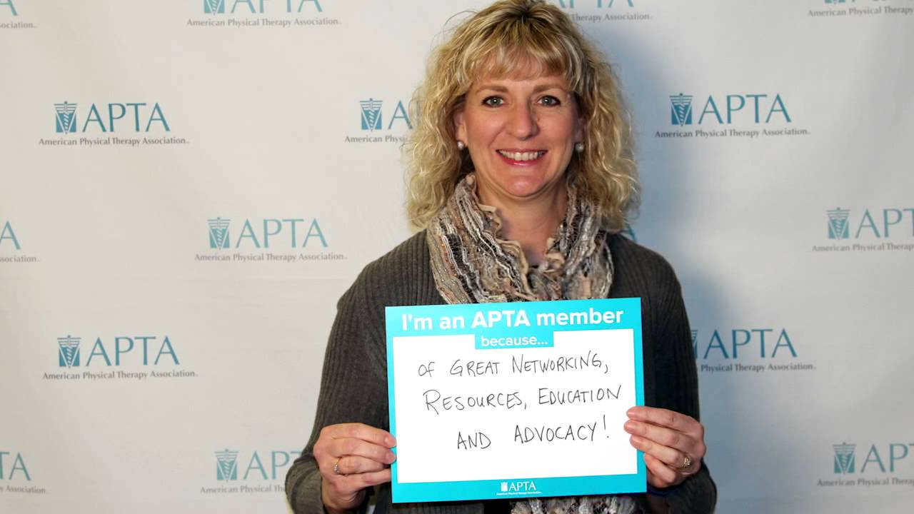 American physical therapy - I M An Apta Member Because American Physical Therapy Association