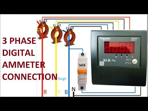 Digital Volt Amp Meter Wiring Diagram from i.ytimg.com