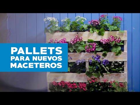 Homecenter sodimac presenta c mo usar pallets para hacer for Celosia de madera para jardin