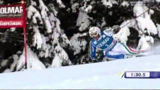 ALTA BADIA 09/10 GIGANTE MAN - WORLD CUP SKI ALPINE