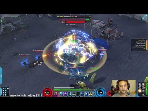 Javs Gameplay Marvel Heroes Thursday Magik gearless leveling DANGER ROOM!