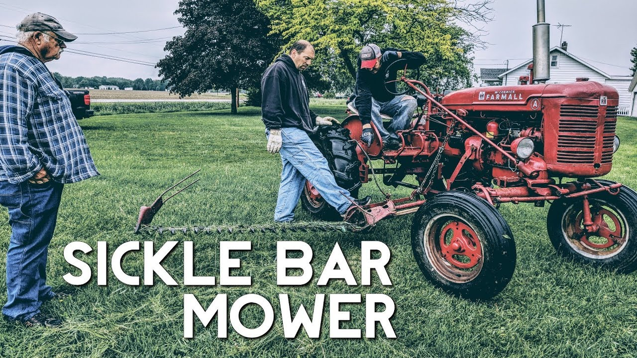 Farmall Super A with Sickle Mower - Installing for the First Time