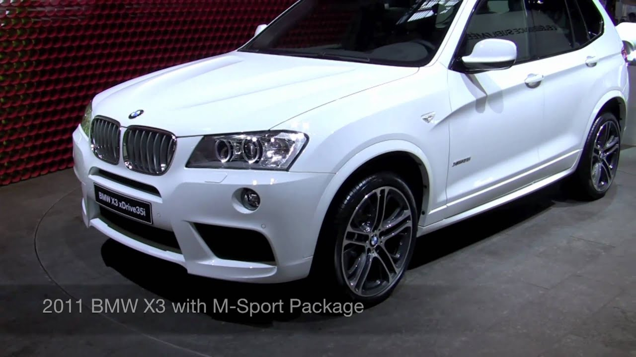 2011 bmw x3 m sport 2010 paris motor show youtube. Black Bedroom Furniture Sets. Home Design Ideas