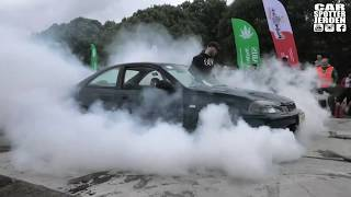 Honda Civic Coupe (EJ6) MASSIVE BURNOUT!