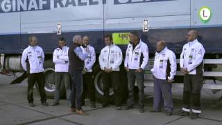 Rainbow Truckteam doet mee aan de rally van Marokko