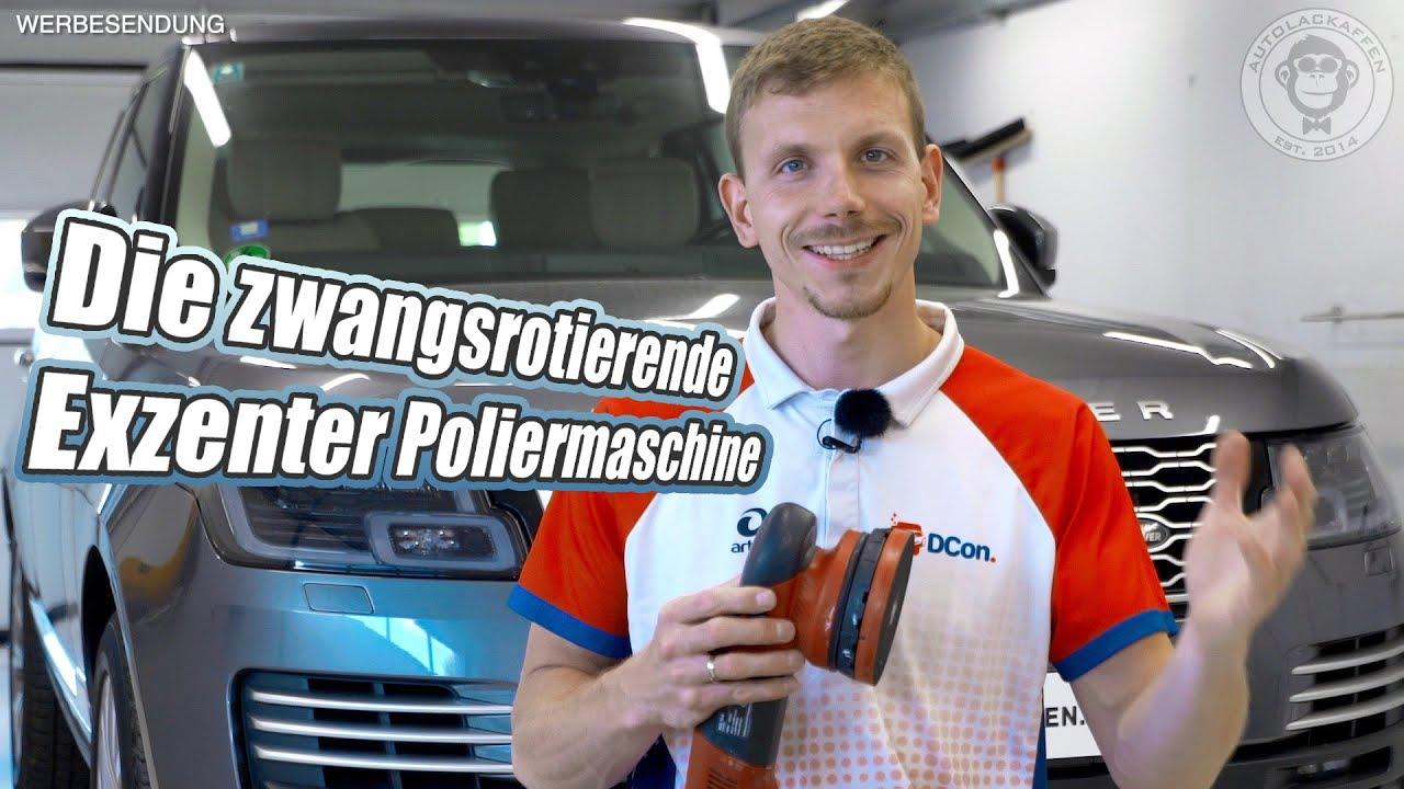 Zwangsangetriebene Exzenter Poliermaschine erklärt & Kaufberatung | AUTOLACKAFFEN