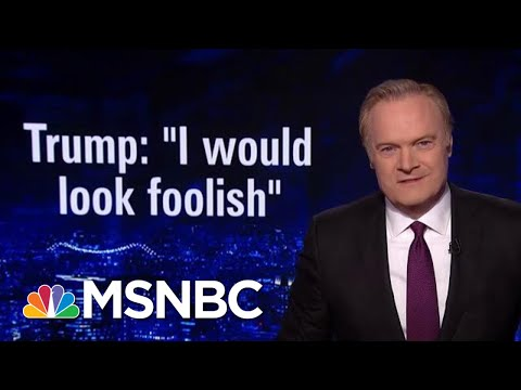 President Trump Said He'd 'Look Foolish' To Take Deal He Previously Accepted | The Last Word | MSNBC