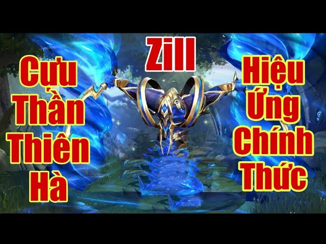 [Gcaothu] Ngất ngây với hiệu ứng trang phục mới Zill Cựu Thiên Hà - Siêu phẩm vũ trụ