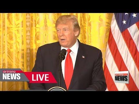 [LIVE/ARIRANG NEWS] Trump open to talks with North Korea 'under right circumstances' - 2018.01.11