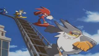 Sonic Riders Opening w/ Sonic Mania Special Stage music