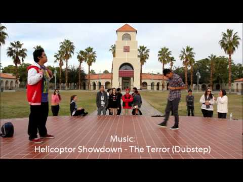 Dubstep Popping Battle | Palm Springs High School | Animazing Crew