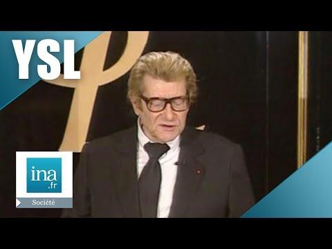 Les adieux d'Yves Saint Laurent | Archive INA