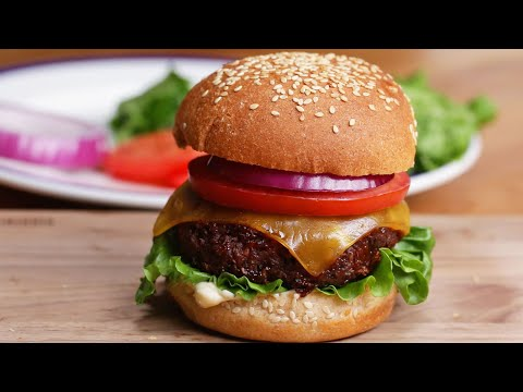 The Best Ever Vegan Burger #VeganWeek