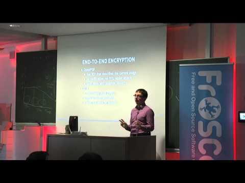 Daniel Gultsch: XMPP 2015 - challenges of modern day instant messaging