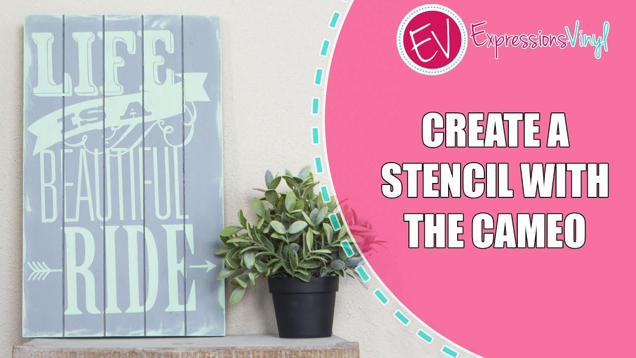 how to create a stencil