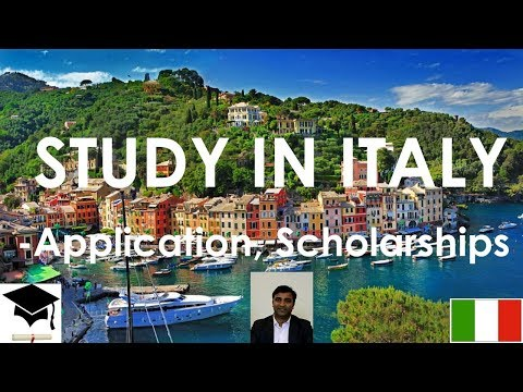 Study in Italy,  Masters and Bachelors, Free Education, Scho