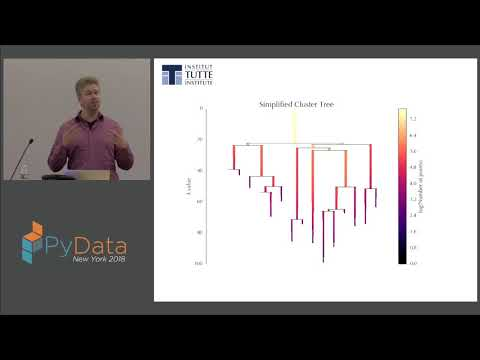 HDBSCAN, Fast Density Based Clustering, The How And The Why - John Healy