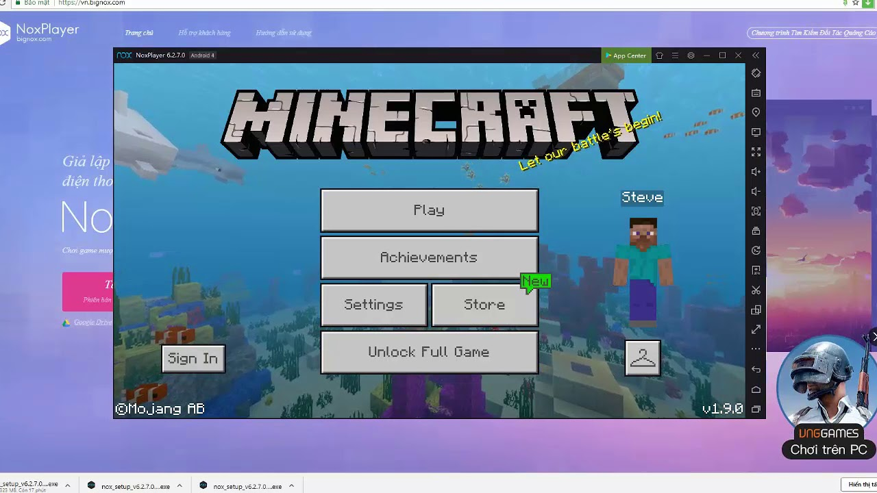 Hướng Dẫn Tải Và Chơi Minecraft PE Trên Máy Tính