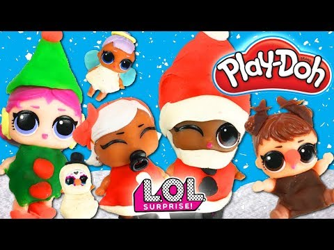 LOL Surprise Dolls Lil Sisters Holiday Costume Contest! With Lil Bebe Bonito! | LOL Dolls Families