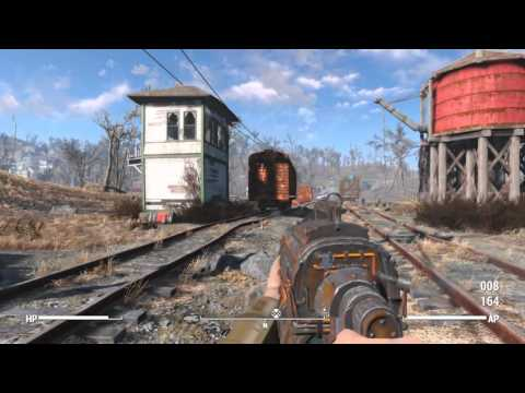 【Fallout 4】 序盤に取れる強力武器[レールライフル]取得方法 フォールアウト4