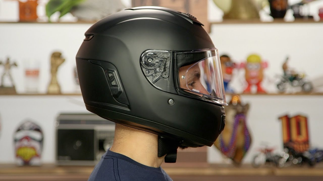 Sena Momentum Inc Bluetooth Integrated Helmet Review Youtube