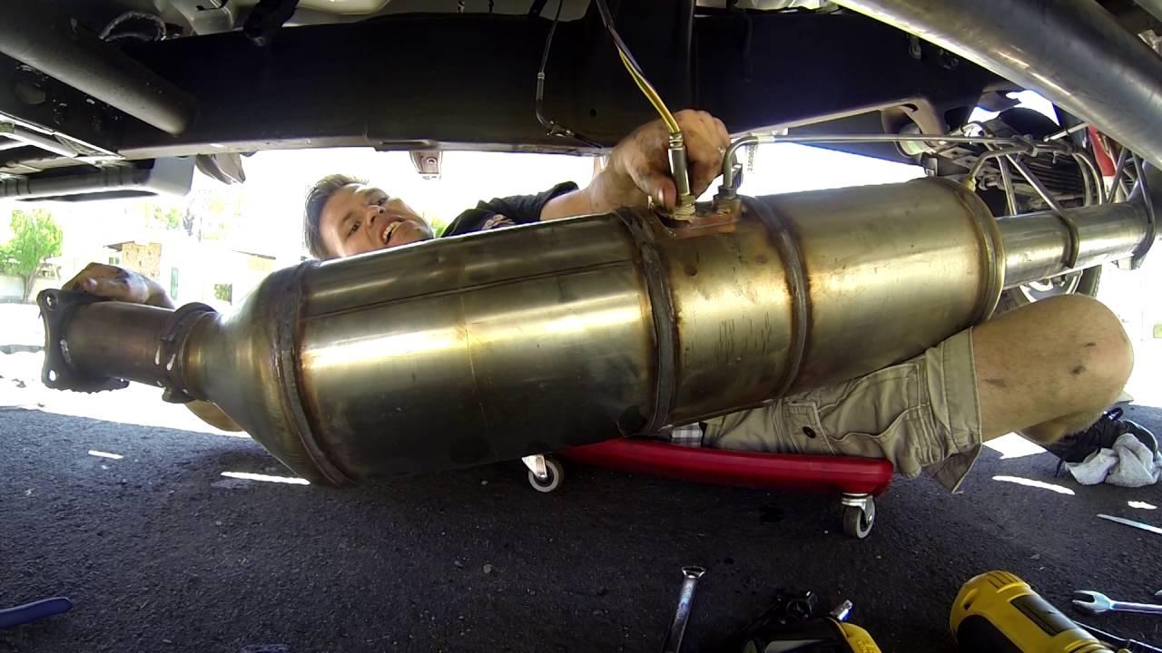 2016 duramax flo pro 5 exhaust with muffler install