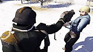 Морпехи СССР VS Корпус Крига МОД Warhammer 40000 В тылу врага