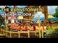 [4K] The Barnstormer - Kid Friendly Coaster : Magic Kingdom (Orlando, FL)