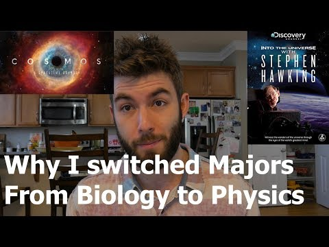 Why I switched from Biology to Physics