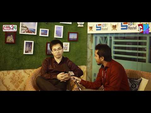 🔵Weekly Interview With Jimmy Zhang । COO Super Hostel Bd (Neways Group)। Uttara News 24 । Channel N