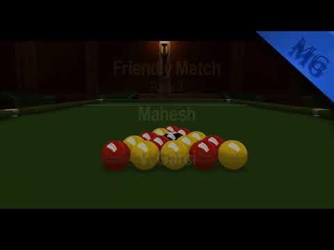 Snooker HD |  Start To End Non Stop Finished  | World 8 Ball Challenge |  Mahesh VS V. Garci