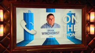 NBA Reporter for ESPN Brian Windhorst on Kyrie Irving's Big Game - 5/24/17