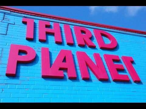 THIRD PLANET COMIC BOOK TOY STORE TOUR HOUSTON TX