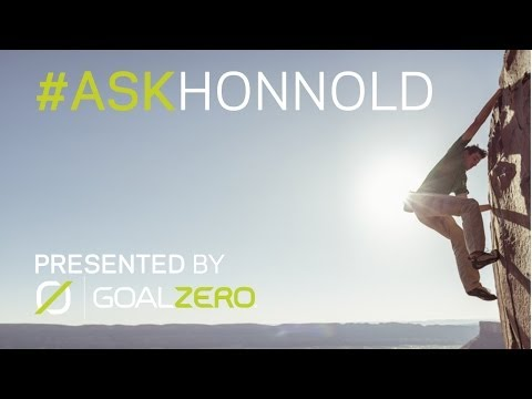 Ask Honnold - Free Solo Climber Alex Honnold Taking Your Questions LIVE!