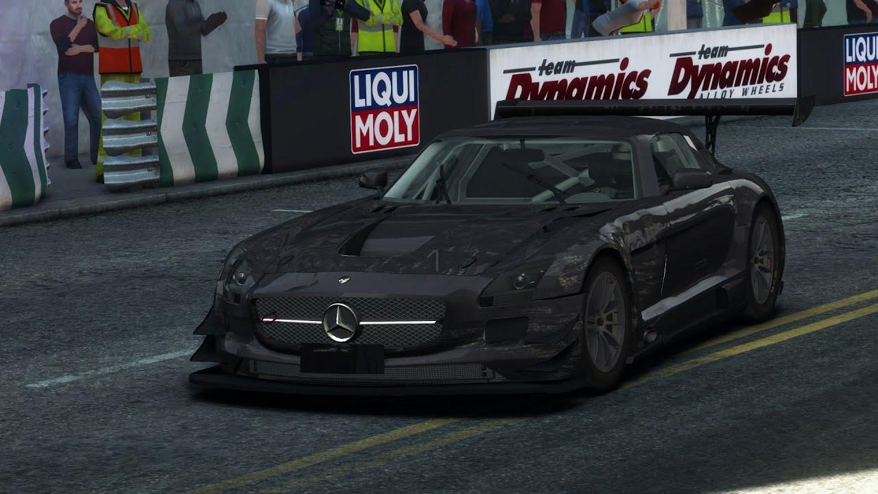 GRID Autosport Endurance Gameplay Beta Preview Mercedes Benz
