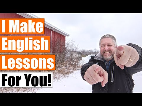 I Make English Lessons For You! (And I Love It!)