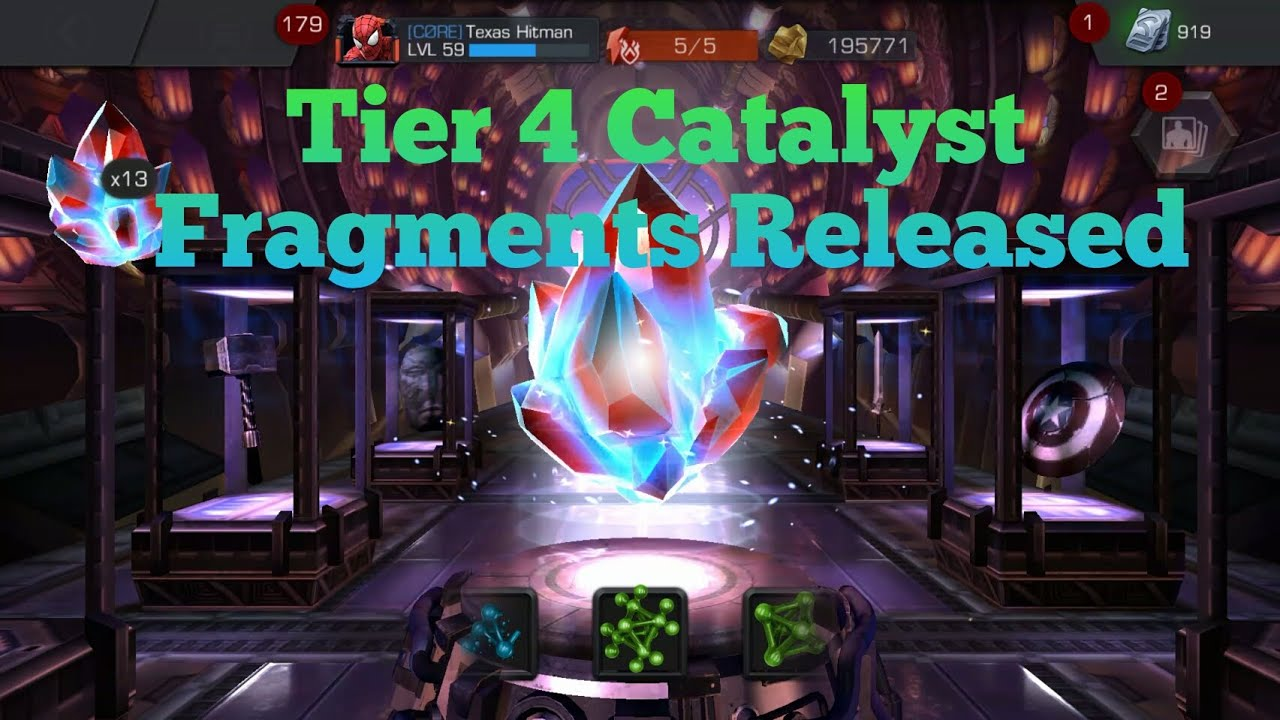 Marvel: Contest of Champions Tier 4 Class Catalyst Fragments ...