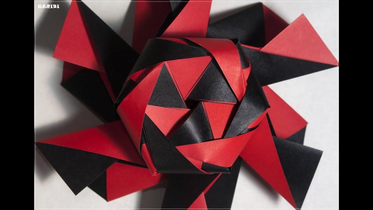 Extrêmement Origami - How to fold a magic box - Hiccius Doccius - YouTube DG84
