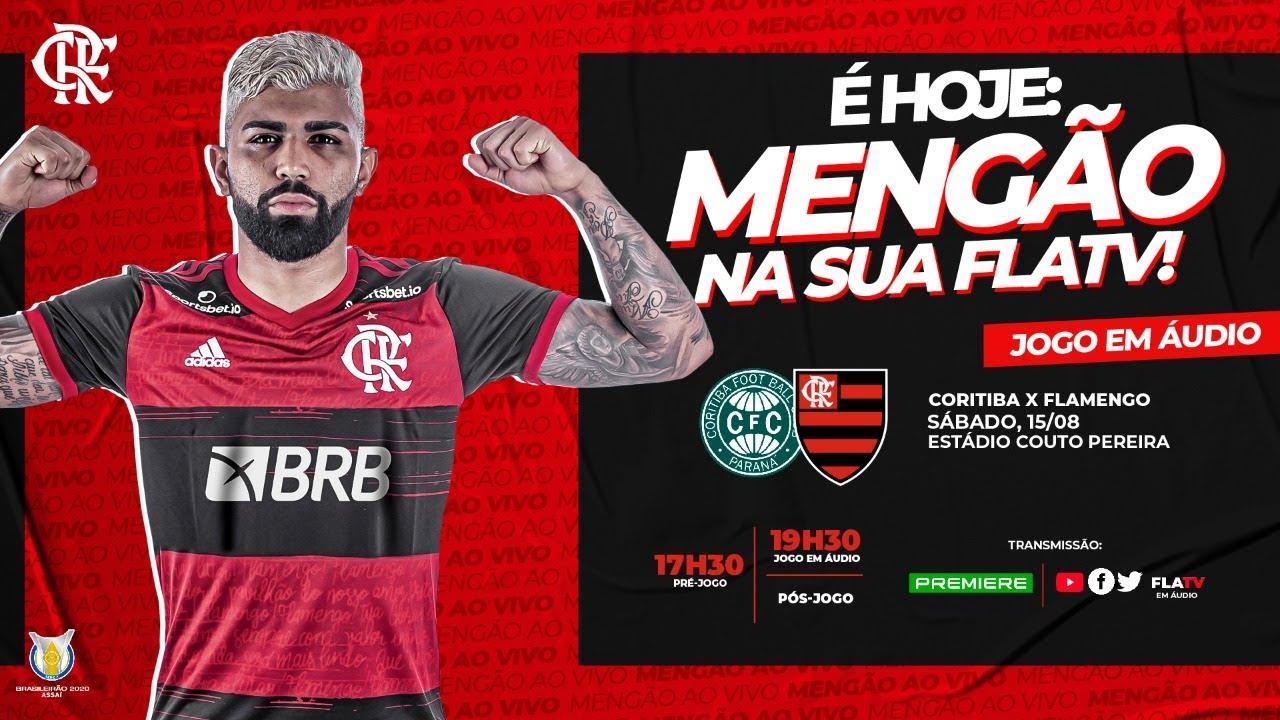 Coritiba X Flamengo Brasileirao 2020 Ao Vivo Youtube